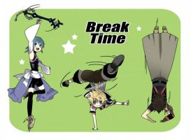 KH BBS : Break Time! by AeroxVentusxYuni