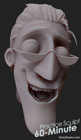 Charlie Jones - 60-Minute Practice Sculpt by GaryStorkamp