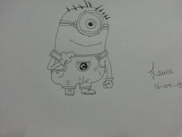 Minion! by Laura-in-china