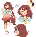 Rika Ref by SoupofFlies