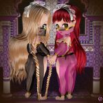Chibis in the harem by Chronophontes