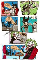 Joker's Bat Sign Prank by corpitin