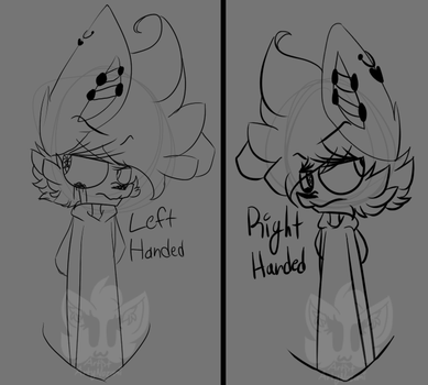 Left Handed - Right Handed by ArtistTails10