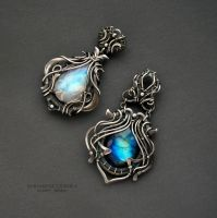 two pendants by KL-WireDream