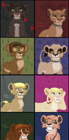 Creepy kids as cubs .REDONE. by TLK-Peachii