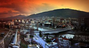 Skopje , Shkupi by mitatos