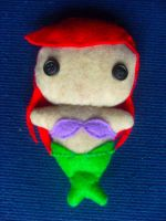 The Little Mermaid Ariel Plushie by CheesyHipster