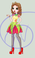 Ever after High oc: Point commision 5 by sbb09wojtanowiczk