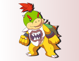 Bowser Jr. by Sandstormer