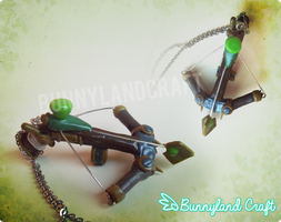 Twitch Crossbow (League of Legends) by BunnyLandCraft