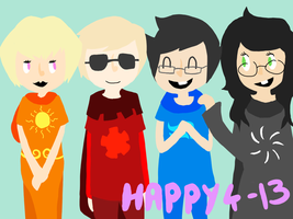 Happy 4-13 by MarzipanDrizzle