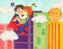 Superman my hero! by Luckyoctopus