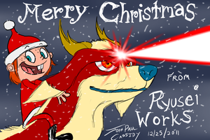 Merry Christmas from Ryusei Works - 2011 by ryuuseipro