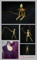 Armature Doll Necklace by nightmare400ml