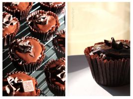 After Eight Cupcakes by claremanson
