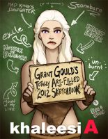 2012 Sketchbook: Khaleesi A by grantgoboom