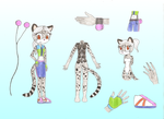 Lea the Clouded Leopard REF by ritinha2