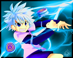Killua by Rainy-Red