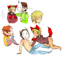Pewdiecry Doodle Dump by DonitKitt