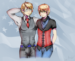 :APH: Alfie and Arthie by Destiny-Shiva