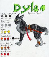 Dylan Reference Sheet by ARVEN92