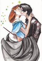 Harry and Ginny by Alsdale