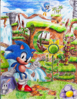 Welcome to Green Hill Zone by poppin7581