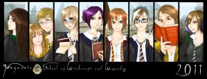 Harry Potter group by GodessFae