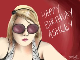 BDay Pic for Ashley by GleeAtack