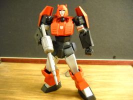 Transformers custom revoltech Cliffjumper by Prowlcop