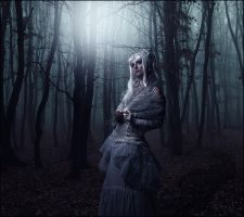 Gothic Girl by AnjosArt