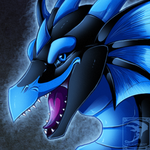 Icon Comish - Midnight Grin by TwilightSaint