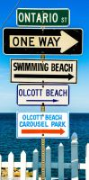 road signs by gabolos