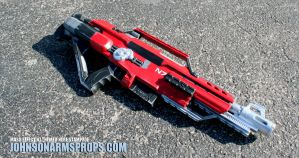 Mass Effect themed NErf Stampede v3 by JohnsonArms