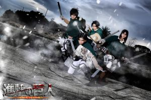 Filipino Shingeki no Kyojin Cosers by Elitez21