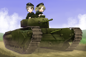 Churchill Mk.1 Tank by deadpeople97