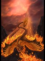The Fire Lord Burninates by neondragon