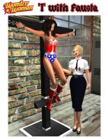 Wonder Woman: 'T' with Fausta by EthereaS