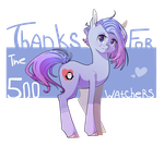 500 watchers by Tomat-in-Cup