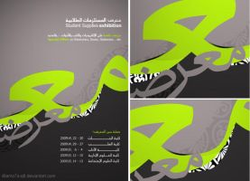 exhibition POSTER by il6amo7a-Q8
