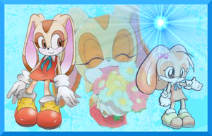Cream the Rabbit wallpaper  by Jappy12