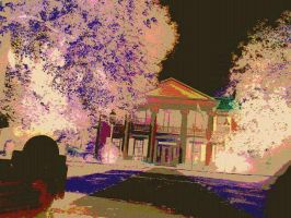 Posterized Psychedlic Mansion Photo-0500 e1 by TheObsessiveBrowser