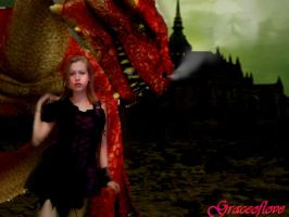 dragon tamer by westend-stock