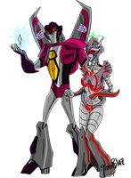 Transformers Animated Commission by gloryblaz