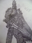 Arthas, the Lich King by Zanatothemax