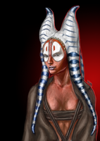 Shaak Ti by Mornardel