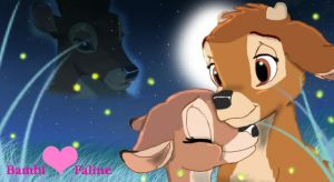 Tween Bambi and Faline by SaddlePatch