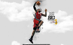 Lebron James Finals Wallpaper by drgraphic
