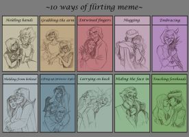 HH: Ten ways to be adorkable by Spookybelle