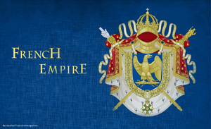 French Empire Coat Of Arms by saracennegative